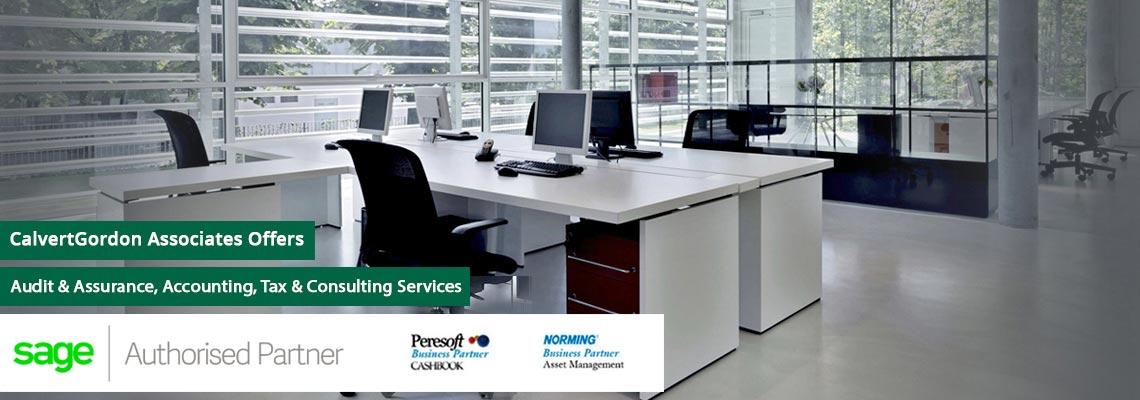 Commercial office premises
